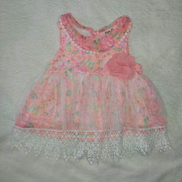 Baby girl floral tunic 18 months